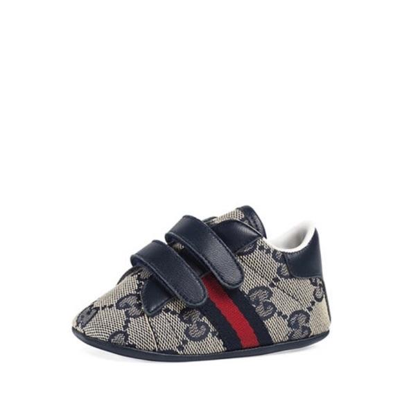 Baby Gucci Shoes Black Non Slip
